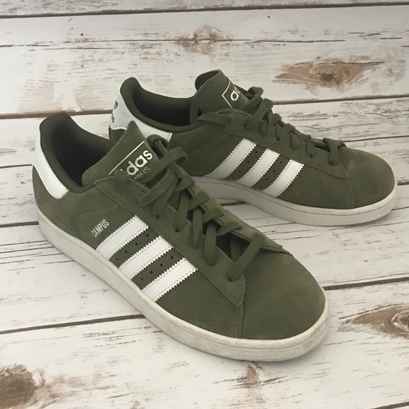 new styles 59855 a08d5 adidas Other - Adidas Originals Campus Olive Suede